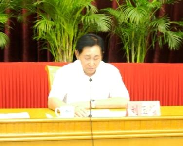 省委副书记刘玉浦发表重要讲话