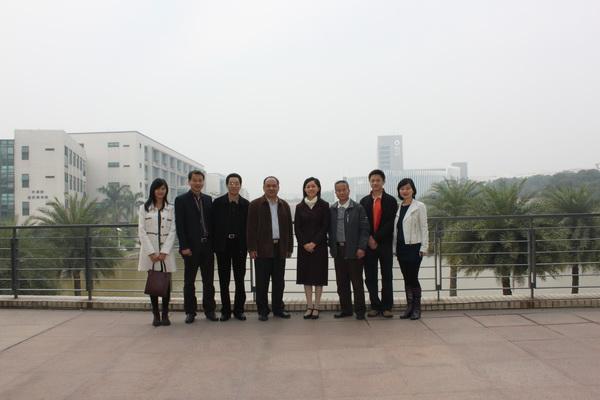 导到广东药学院指导工作