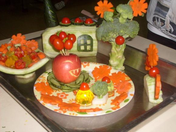 广东海洋大学外国语学院第五届蔬果拼盘大赛