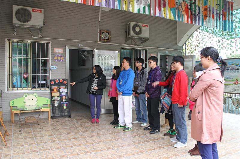 21日,实践小组参观江门市蓬江区骏景幼儿园并与幼师交流