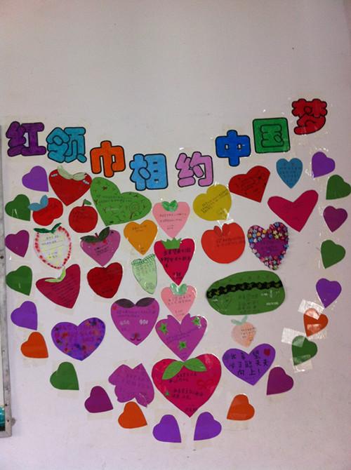 通过贴心愿墙,写给未来自己的一封信等,引导少年儿童描述展望中国梦图片