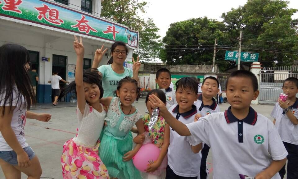 我校青年志愿者走进庄陇小学开展儿童节主题队日活动